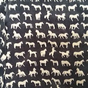 Liz Claiborne horse button down shirt 1X